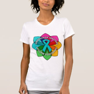 Scleroderma Awareness Matters Petals T-shirt
