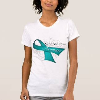 Scleroderma Disease Awareness Ribbon Tshirt