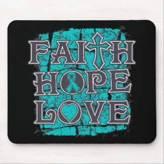 Scleroderma Faith Hope Love Mouse Pads