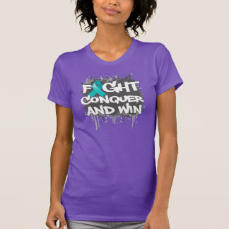 Scleroderma Fight Conquer and Win Tees