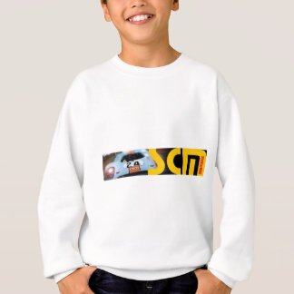 Scm Banner Logo with Car Sweatshirt