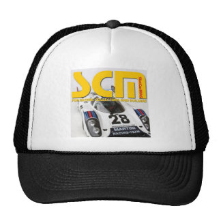 Scm Martini Racing Slot Car Logo Cap