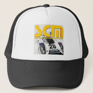 Scm Martini Racing Slot Car Logo Trucker Hat
