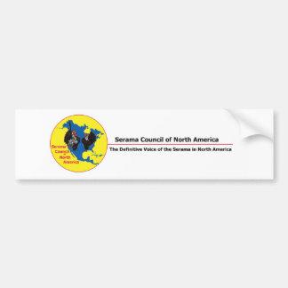 SCNA National Logo Long Sticker Bumper Sticker