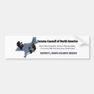 SCNA North Atlantic Banner Logo Bumper sticker