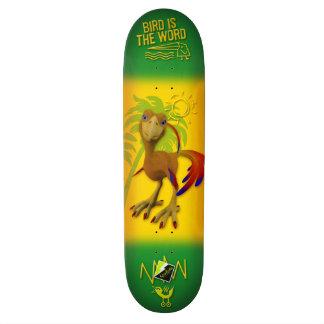 "Scolletta ""Bird Is The Word"" Deck 050 21.3 Cm Mini Skateboard Deck"