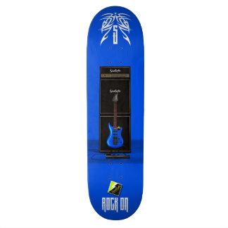 "Scolletta ""Rock On VI"" Deck 048 20.6 Cm Skateboard Deck"