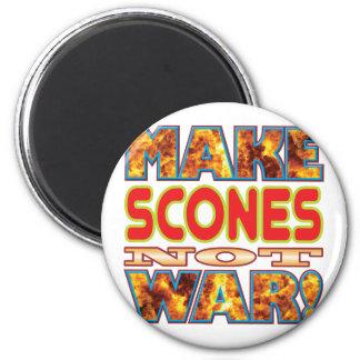Scones Make X 6 Cm Round Magnet