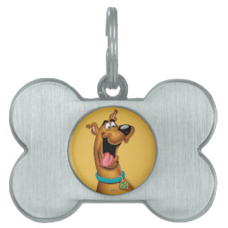Scooby Doo Airbrush Pose 15 Pet ID Tag