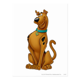 Scooby Doo Airbrush Pose 1 Postcard