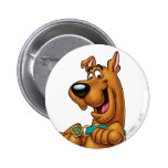 Scooby Doo Airbrush Pose 23 Button