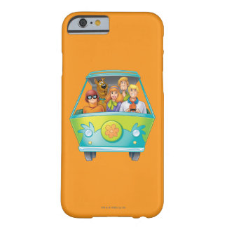 Scooby Doo Airbrush Pose 25 Barely There iPhone 6 Case