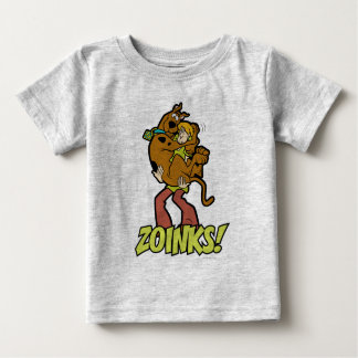 Scooby-Doo and Shaggy Zoinks! Baby T-Shirt