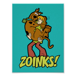 Scooby-Doo and Shaggy Zoinks! Poster