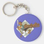 Scooby Doo Baseball Keychains
