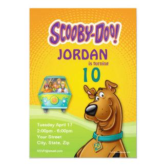 Scooby Doo Birthday 13 Cm X 18 Cm Invitation Card