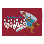 "Scooby Doo ""Bowling""1 Greeting Card"