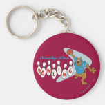 """Scooby Doo """"Bowling""""1 Keychains"""