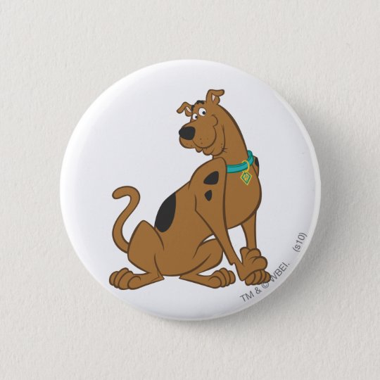 Scooby Doo Cuter Than Cute Pose 12 6 Cm Round Badge