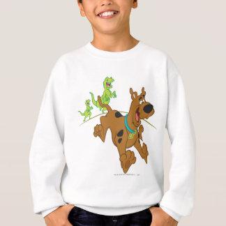 Scooby Doo Dinosaur Chasing2 Sweatshirt