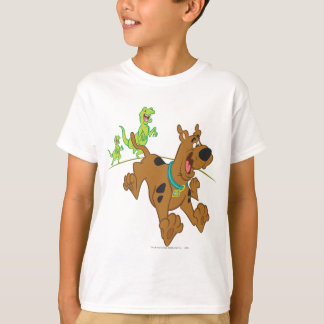 Scooby Doo Dinosaur Chasing2 Tees