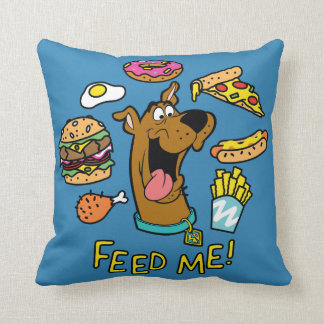 Scooby-Doo Feed Me! Cushion