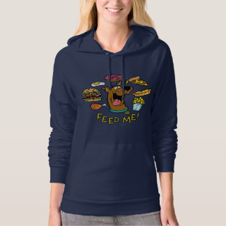 Scooby-Doo Feed Me! Hooded Pullover