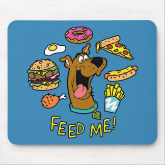 Scooby-Doo Feed Me! Mouse Mat