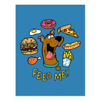 Scooby-Doo Feed Me! Postcard