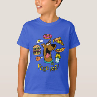 Scooby-Doo Feed Me! T-shirts