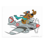 Scooby Doo Goal Transportation Pose 14 Postcard