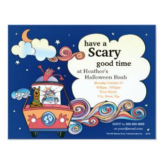Scooby Doo Halloween Party 11 Cm X 14 Cm Invitation Card