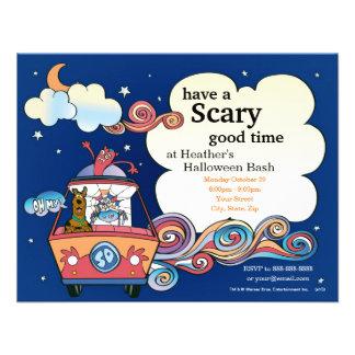 Scooby Doo Halloween Party Custom Invitation