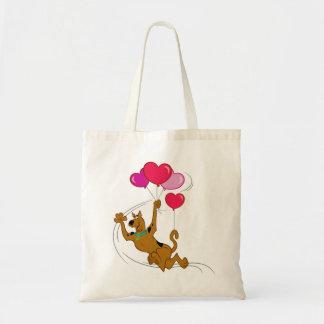 Scooby Doo - Heart Balloons Tote Bag