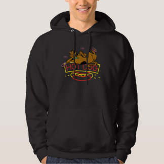 Scooby-Doo Hot Dog Neon Sign Hoodie
