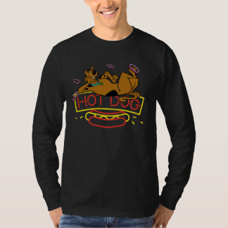Scooby-Doo Hot Dog Neon Sign T-Shirt