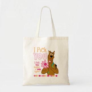 Scooby Doo - I Pick You Tote Bag