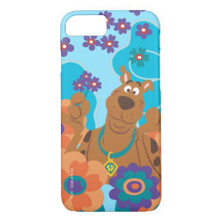 Scooby Doo in Flower Field iPhone 8/7 Case