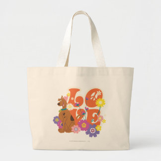 "Scooby Doo ""Love"" Large Tote Bag"