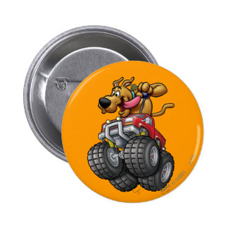 Scooby Doo Monster Truck1 6 Cm Round Badge
