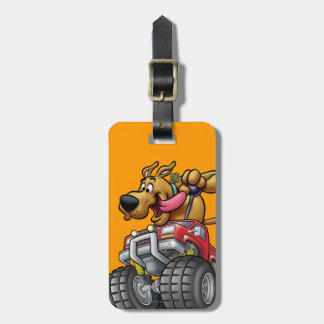Scooby Doo Monster Truck1 Luggage Tag