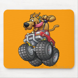 Scooby Doo Monster Truck1 Mouse Mat