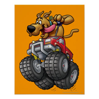Scooby Doo Monster Truck1 Poster