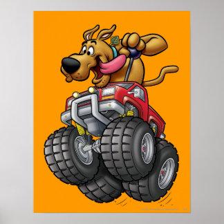 Scooby Doo Monster Truck1 Posters