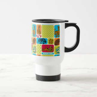 Scooby-Doo Mystery Pattern Travel Mug