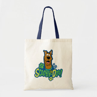 Scooby-Doo Paw Print Character Badge Budget Tote Bag