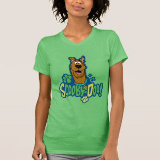Scooby-Doo Paw Print Character Badge Tshirt