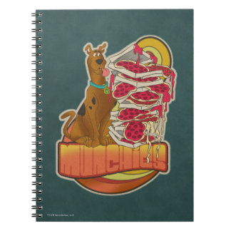"Scooby-Doo | Pile of Pizza ""Munchies"" Graphic Notebook"