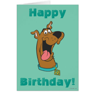 Scooby Doo Pose 49 Greeting Card