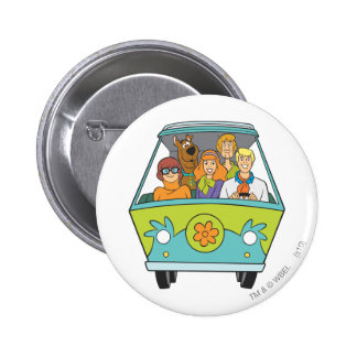 Scooby Doo Pose 71 6 Cm Round Badge